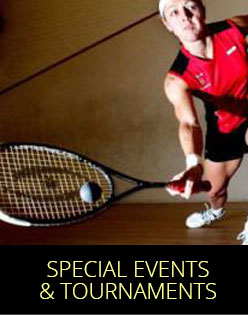 Special Tournaments & Events